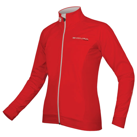 Endura FS260-Pro Jetstream Long Sleeve Jersey - Red | VeloVixen