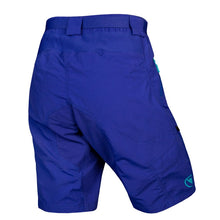 Load image into Gallery viewer, Womens MTB blue baggy shorts Endura