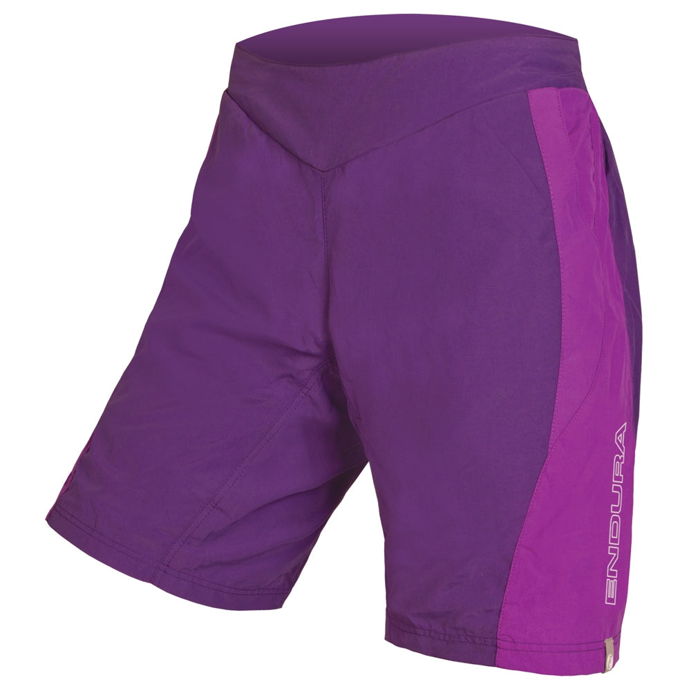 Endura Pulse Short - Purple | Velo Vixen