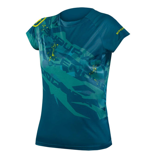 Endura SingleTrack Print T - Kingfisher (Limited Edition)