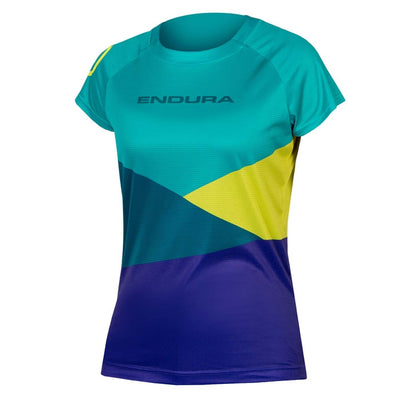 Endura SingleTrack Core Print T - Kingfisher