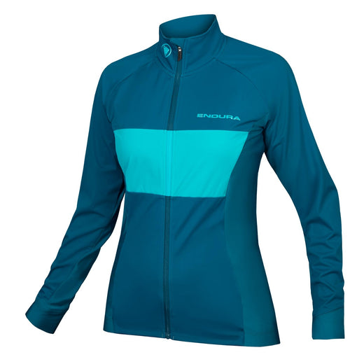 Endura FS260-Pro Jetstream Long Sleeve Jersey II - Kingfisher | VeloVixen