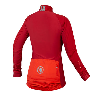 Endura FS260-Pro Jetstream Long Sleeve Jersey II - Rust Red
