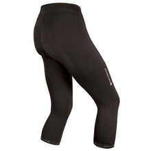 Load image into Gallery viewer, Black womens cycling 3/4 Knicker Endura