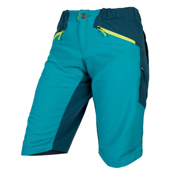 Endura SingleTrack Short - Pacific Blue