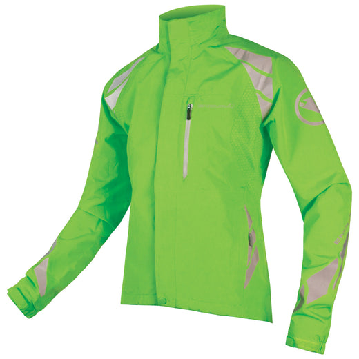 Endura Luminite DL Jacket (Hi-Viz Green) | VeloVixen