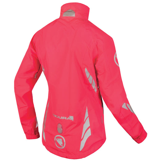 Endura Luminite DL Jacket (Hi-Viz Pink) | VeloVixen