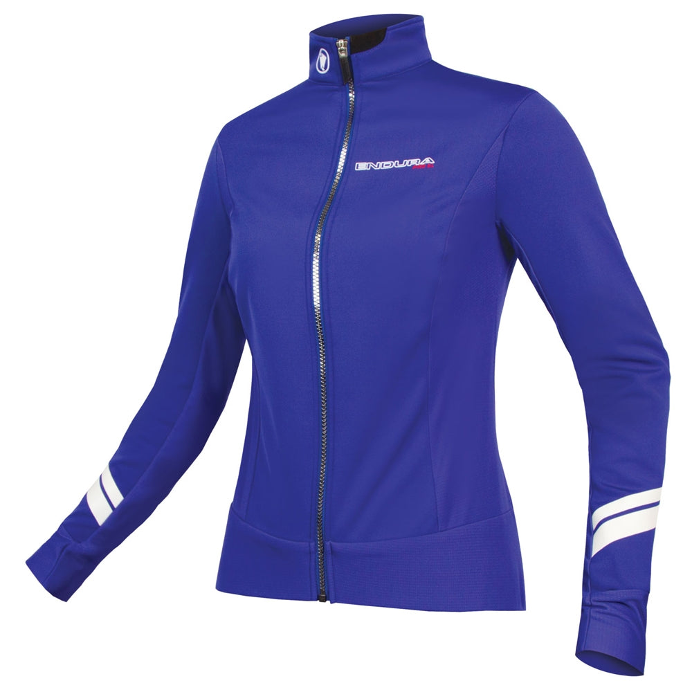 Endura Pro SL Thermal Windproof Jacket - Cobalt Blue | VeloVixen
