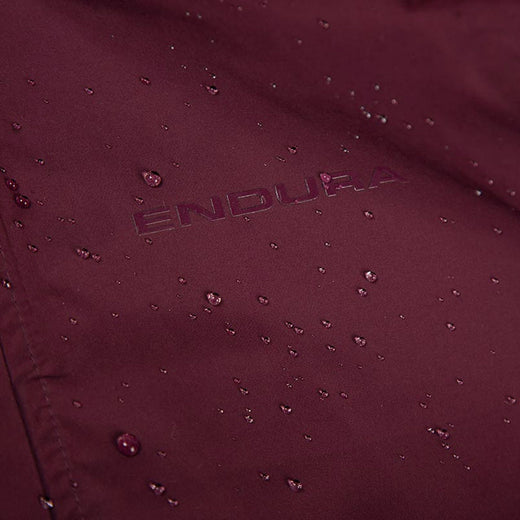 Endura Urban 3 in 1 Waterproof Jacket - Mulberry