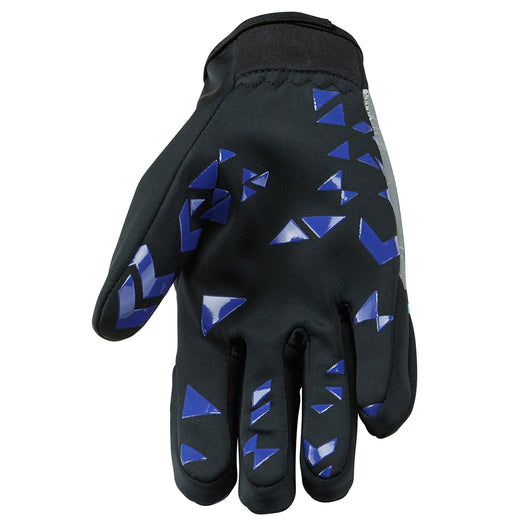 Madison Element Softshell Gloves - Black/Purple Reign