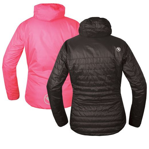 Endura FlipJak Reversible Jacket - Black | VeloVixen