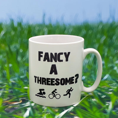 Worry Less Design Fancy A Threesome Mug