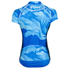 Load image into Gallery viewer, Primal Fierce Evo blue womens cycling jersey