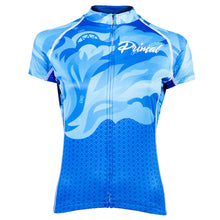 Load image into Gallery viewer, Primal Fierce Evo Jersey - Blue Flame | VeloVixen
