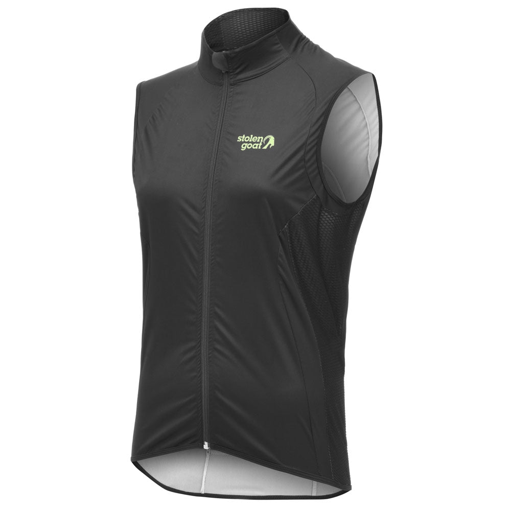 Stolen Goat Bodyline Womens Core Cycling Gilet - Black | VeloVixen