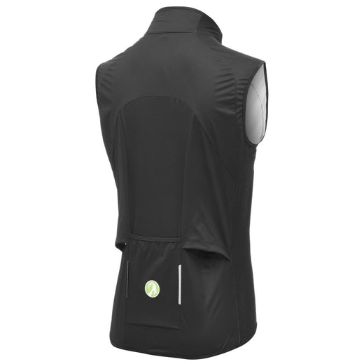 Womens cycling windproof gilet black Stolen Goat