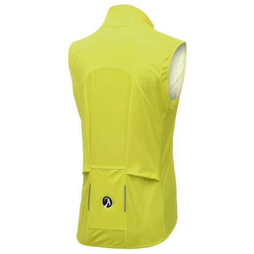 Women specific yellow cycling windproof gilet Stolen Goat