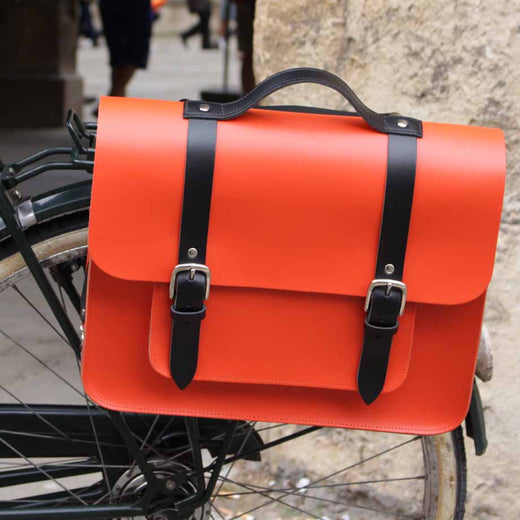 Hill & Ellis Jasper Leather Cycling Bag | VeloVixen