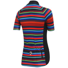 Load image into Gallery viewer, Stolen Goat womens cycling jersey - hypervelocity 19 stripes