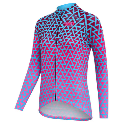 Stolen Goat Bodyline Long Sleeve Womens Cycling Jersey - Zulu