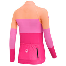 Load image into Gallery viewer, Stolen Goat womens cycling jersey - Pink orange blocks