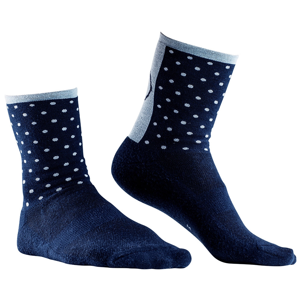 Rivelo Whitwell Socks - Navy/Blue | Velo Vixen