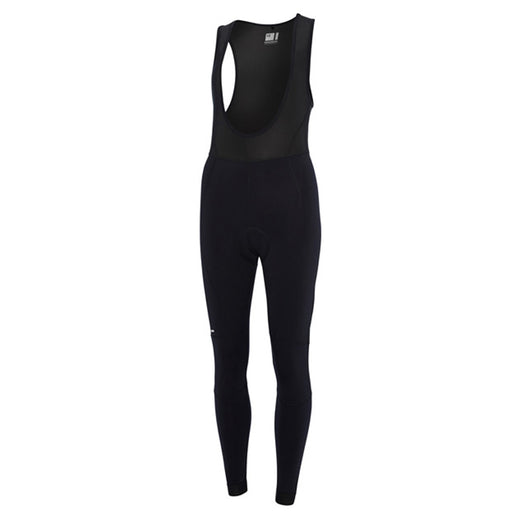 Madison Keirin Padded Bib Tights - Black | VeloVixen