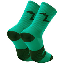 Load image into Gallery viewer, Morvélo Series Emblem Socks - Kelly