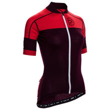 Load image into Gallery viewer, Rivelo Applecross Merino Jersey - Burgundy/Red | Velo Vixen