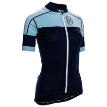 Load image into Gallery viewer, Rivelo Applecross Merino Jersey - Navy/Blue | Velo Vixen