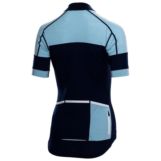 Rivelo Applecross Merino Jersey - Navy/Blue