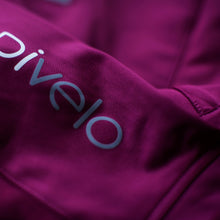Load image into Gallery viewer, Rivelo Frensham Thermal Long Sleeve Jersey - Magenta/Navy