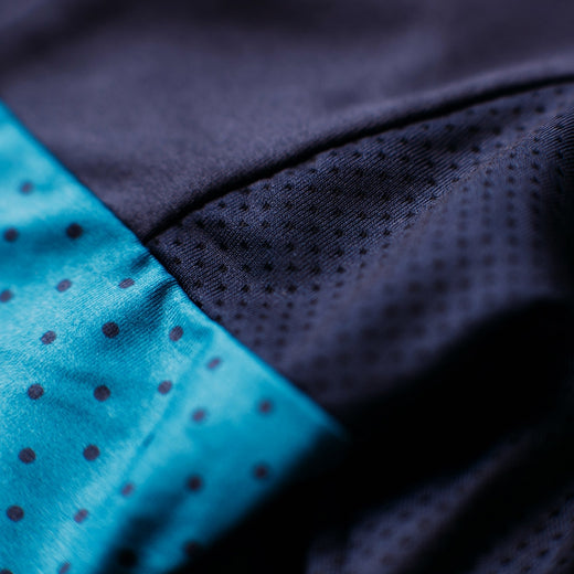 Rivelo Harwood Jersey - Navy/Teal
