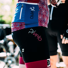 Load image into Gallery viewer, Rivelo Womens Ranmore Shorts - Black/Magenta