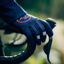 Load image into Gallery viewer, Rivelo Ashurst Softshell Gloves - Navy/Red