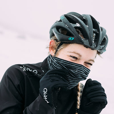Rivelo Brockham Merino Neck Warmer - Black/Charcoal