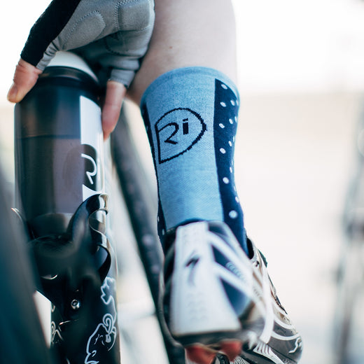 Rivelo Whitwell Socks - Navy/Blue