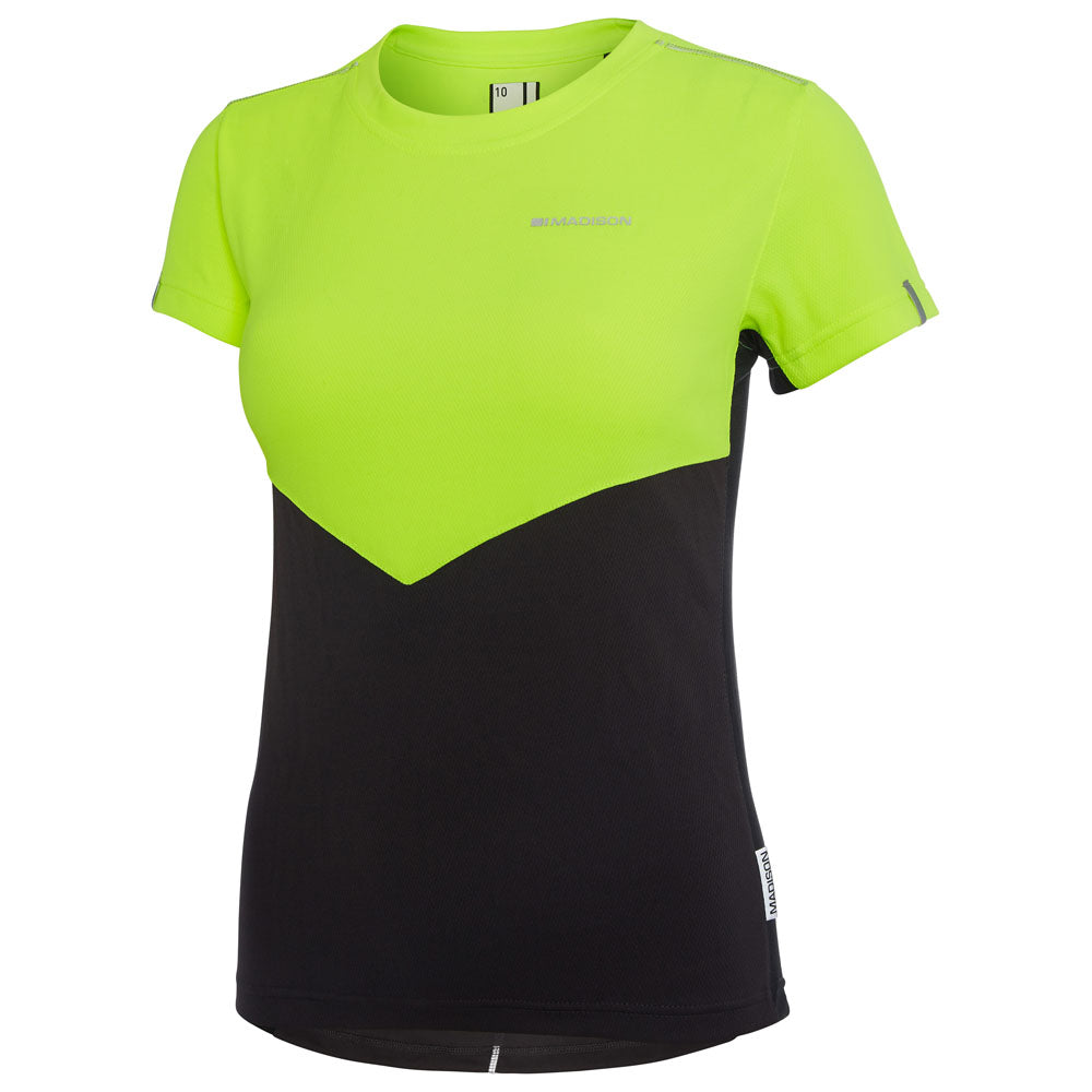 Madison Stellar Jersey- Hi Viz Yellow | VeloVixen