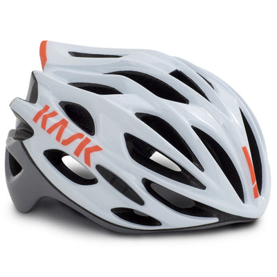 Kask Mojito X Helmet - White/Ash/Orange Fluo