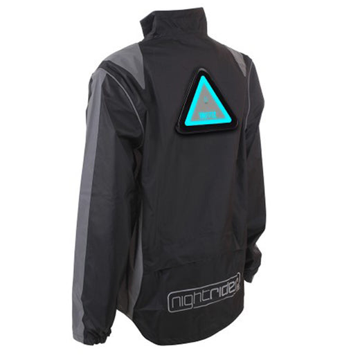 Proviz Nightrider High Visibility Waterproof Jacket - Black