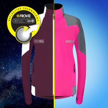 Load image into Gallery viewer, Proviz Nightrider Cycling Jacket 2.0 - Pink
