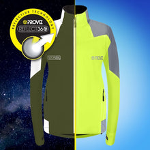 Load image into Gallery viewer, Proviz Nightrider Cycling Jacket 2.0 - Yellow