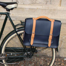 Load image into Gallery viewer, Hill & Ellis Professor Leather Cycling Bag | VeloVixen
