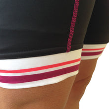 Load image into Gallery viewer, Polaris Vela Race Cycling Shorts (Black/Plum)