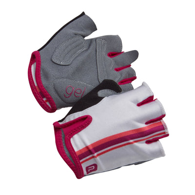 Polaris Vela Mitts (White/Plum)