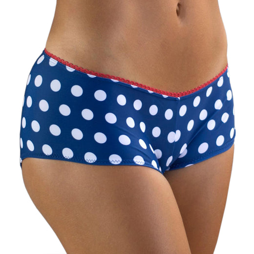 Urbanist Padded Cycling Knickers - Polka Dot