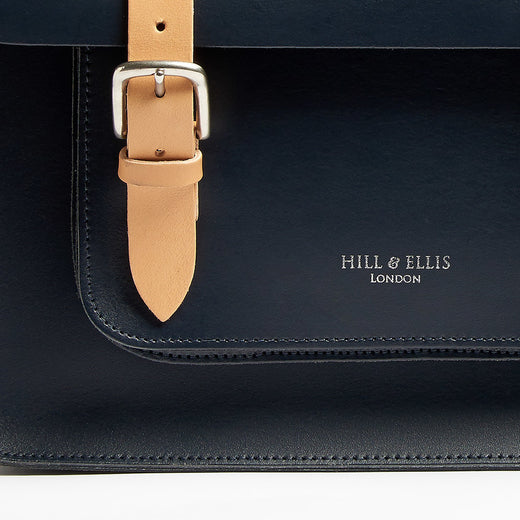 Hill & Ellis Don Leather Cycling Bag | VeloVixen