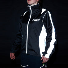 Load image into Gallery viewer,  Proviz Nightrider High Visibility Women's Cycling Jacket (Black)