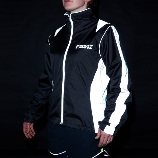 Proviz Nightrider High Visibility Women's Cycling Jacket (Black)