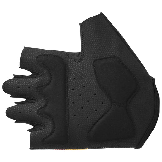 Stolen Goat womens cycling gloves - black yellow red